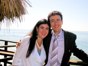 Mirabai and Dr. Taddy Bletcher